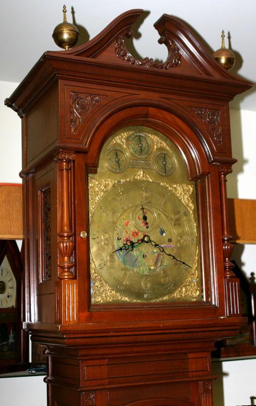 Shreve Crump Low Boston Victorian Grandfather Clock C
