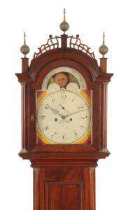 vintage shelf clock