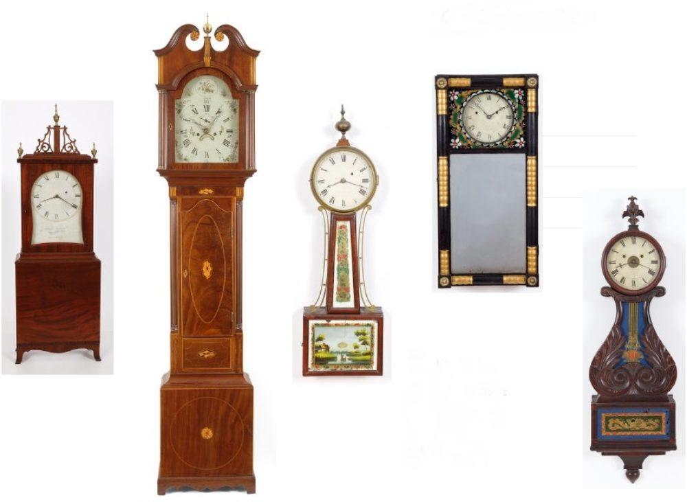 Adams Brown Co.,  Antique Clocks